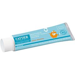 Pasta de dinti pentru copii  7+ cu portocala Cattier 50ml