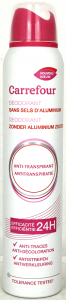 Deodorant dama anti perspirant Carrefour 200ml