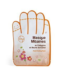 Manusi masca pentru maini  cu colagen si unt de karité DMP Provence