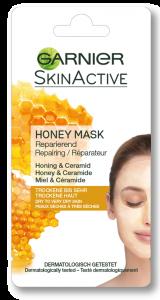 Masca de fata pentru repararea tenului cu miere, pentru tenul uscat Garnier 8ml