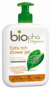 Gel de dus hidratant Biopha 400ml