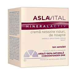 Crema netezire riduri de noapte 50ml Aslavital