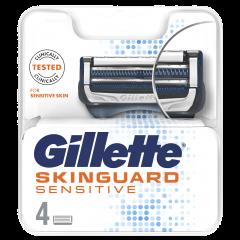 Rezerva aparat de ras Gillette SkinGuard Sensitive 4 buc