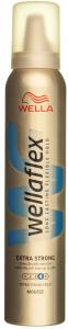 Spuma pentru fixare rezistenta Wellaflex Extra Strong 200ml