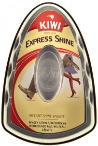 Burete cu silicon incolor pentru luciu Kiwi Express Shine 6ml
