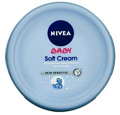 Crema delicata pentru bebelusi 200ml Nivea Baby Soft Cream