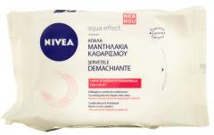 Servetele demachiante Cleansing Wipes Nivea 25 buc