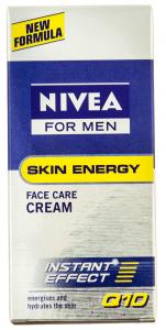 Crema de fata revitalizanta pentru barbati Nivea Q10 for Men 50ml