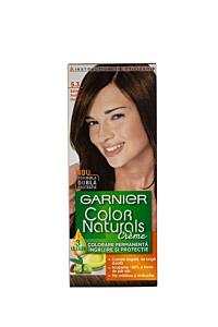 Vopsea de par Garnier Color Naturals 5.3 Saten Deschis Auriu