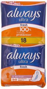 Absorbante Always Ultra Normal Plus Fresh 9+9buc