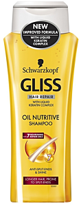 Sampon Gliss oil nutritive 250ml