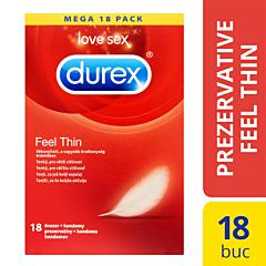 Prezervative Durex Feel Thin 18bucati