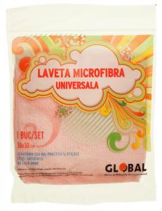 Laveta microfibra universala Global 30x30cm