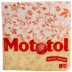 Servetele decorative Mototol 2 straturi 33x33cm 60buc