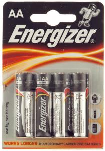 Baterie alcalina AA LR6 1.5V Energizer 4buc