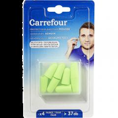 Dopuri urechi cu spuma Carrefour 8 bucati
