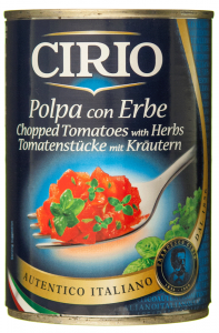 Pulpa de rosii cu ierburi aromatice Cirio 400g