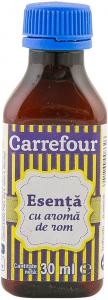 Esenta de rom Carrefour 30 ml