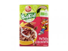 Petale bio de ciocolata BioKid 250g