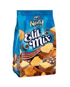 Mix de napolitane, biscuiti si snacks Naty Elit Mix 300g