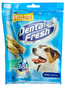 Hrana complementara pt caini adulti Purina Friskies Dental fresh 3in1 110g