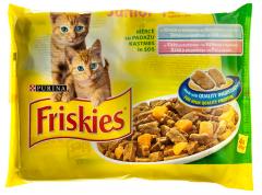 Hrana completa pt puii de pisica Purina Friskies Junior 400g