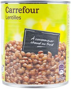 Linte Carrefour 800g