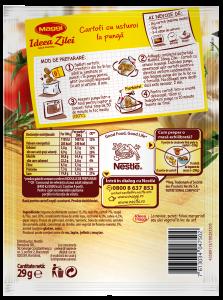 Baza pentru cartofi cu usturoi la punga Maggi Ideea Zilei 29g