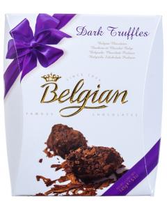 Trufe ciocolata neagra 145g Belgian