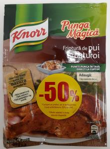 Punga magica Knorr 14g 1+1-50%