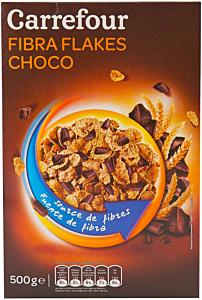 Petale de grau cu ciocolata Carrefour 500g