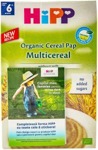 Multicereale Hipp Organic Cereal Pap din a 6-a luna 200g