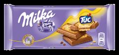 Cracker Tuc and Milka 87g