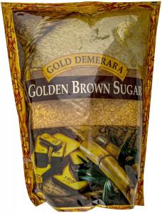 Zahar brun auriu Gold Demerara 500g