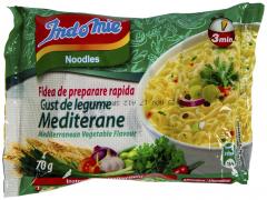 Fidea de preparare rapida cu gust de legume Mediterane Indomie 70g
