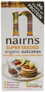 Painici din ovaz cu cu seminte de chia, floarea-soarelui si in Nairn's 200g