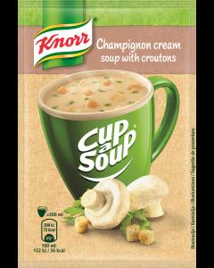 Supa instant Crema cu ciuperci si crutoane Knorr Cup a Soup 15g