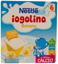 Iogolino banane Nestle 4x100g