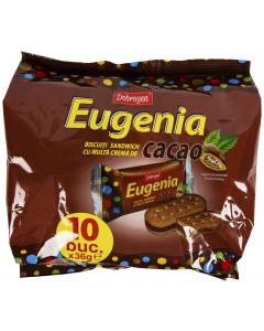 Biscuiti cacao cu multa crema cacao Dobrogea Eugenia 360g