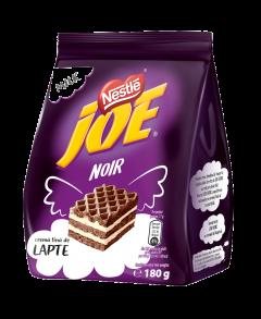 Napolitane cu crema fina de lapte Joe Noir 180g