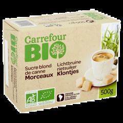 Specialitate din zahar brun Carrefour Bio 500g