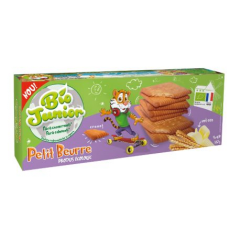 Biscuiti ecologici  Petit Beurre cu unt 167g Bio Junior