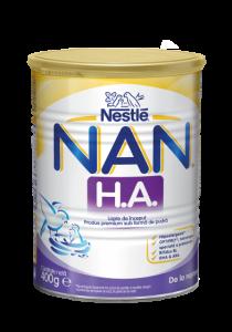 Lapte praf de la nastere Nestle Nan H.A. 400g