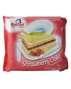 Tort cu crema de lapte si capsuni Balconi 400g