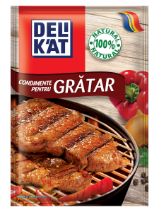 Condimente pentru gratar Delikat 23g