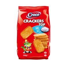 Crackers top cu sare Croco 150g