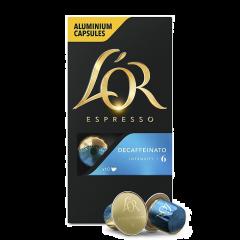 Capsule cafea decofeinizate L'Or 10x2,5g