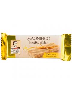 Napolitana umpluta cu crema cu lapte si aroma de vanilie Magnifico Vicenzi 25g