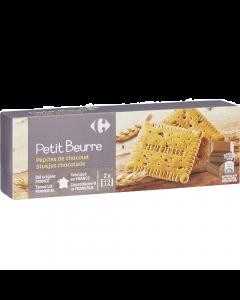 Biscuiti Petit Beurre cu ciocolata Carrefour 200g