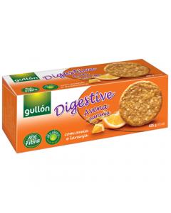 Biscuiti digestivi cu ovaz si portocala Gullon 425g